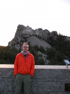 Brandon's first visit to Mount Rushmore!