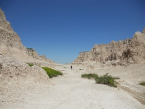 Brandon hiking Badlands