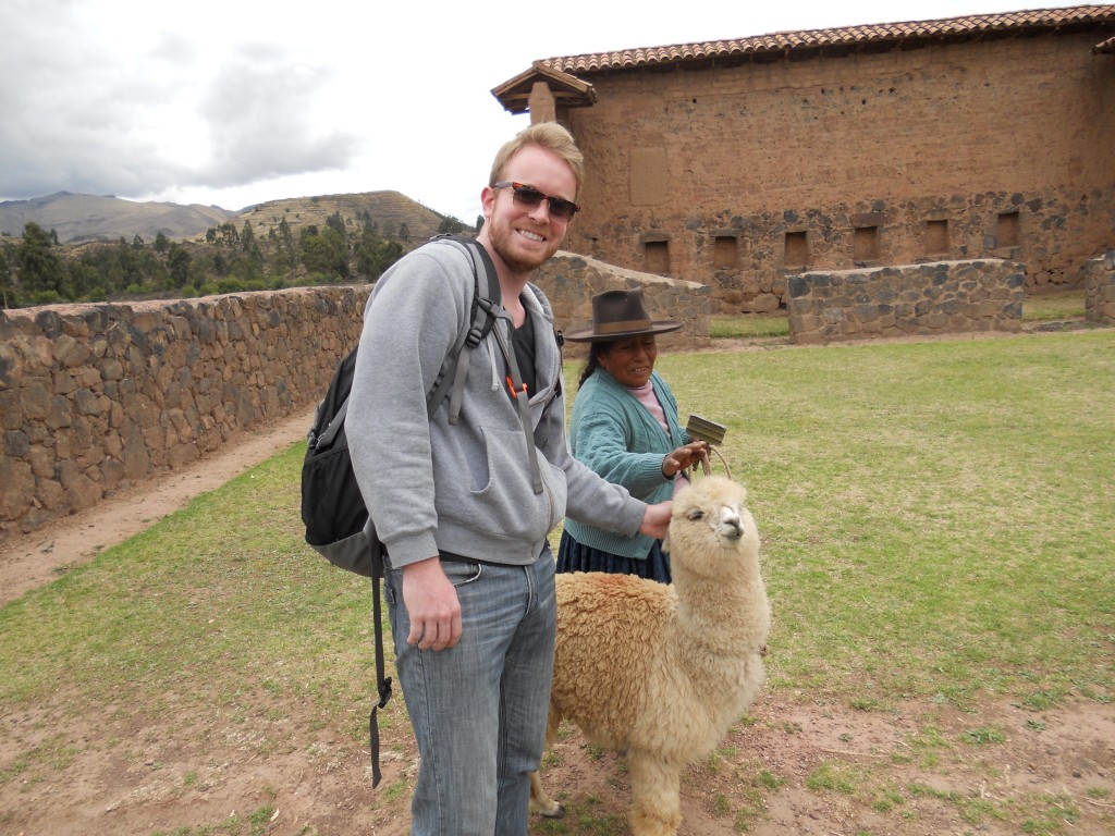 Brandon and Alpaca