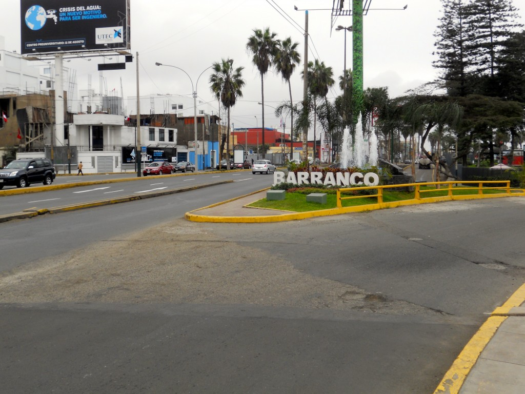 Barranco Sign