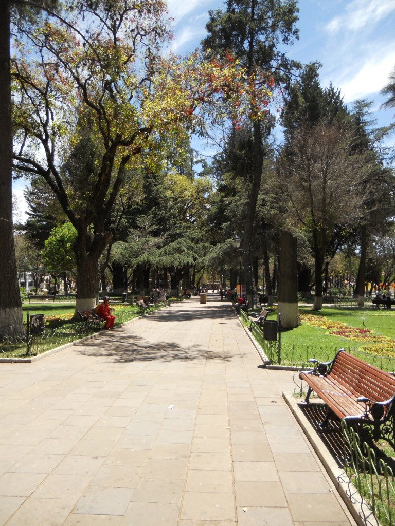 Park in Sucre
